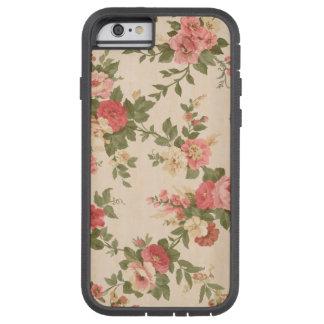 Coque Tough Xtreme iPhone 6 cas floral rose de motif