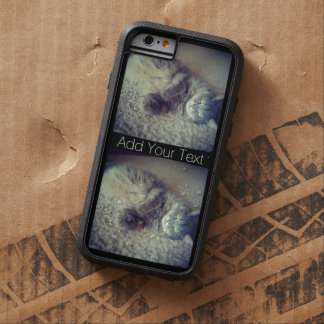 Coque Tough Xtreme iPhone 6 Collage de chat par Shirley Taylor