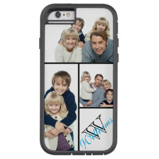 Coque Tough Xtreme iPhone 6 Créez votre propre nom simple du collage w/Custom