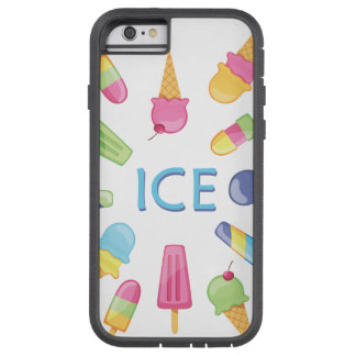 Coque Tough Xtreme iPhone 6 Glace de glace pour l'iphone 6