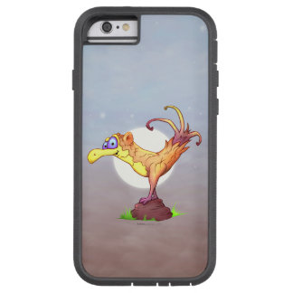 Coque Tough Xtreme iPhone 6 iPhone 6/6s Xtreme dur de BANDE DESSINÉE d'OISEAU