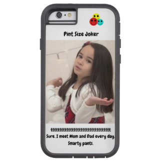 Coque Tough Xtreme iPhone 6 Joker de taille de pinte : Le je-sais-tout halète
