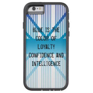 Coque Tough Xtreme iPhone 6 Le bleu est…