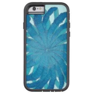 Coque Tough Xtreme iPhone 6 médias mélangés bleus #1 de 5th-Throat Chakra