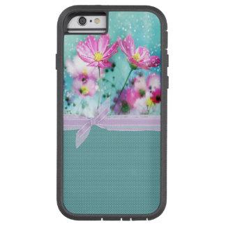 Coque Tough Xtreme iPhone 6 Pois Girly mignon, fleurs de floraison