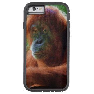 Coque Tough Xtreme iPhone 6 Portrait femelle mis en danger de primat