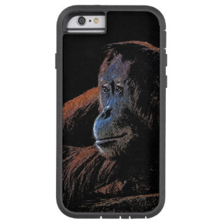 Coque Tough Xtreme iPhone 6 Portrait mis en danger de primat d'orang-outan