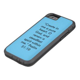 """Coque Tough Xtreme iPhone 6 """"Un phone extrême dur pur de cellules d'Iphone"""