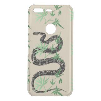 Coque Uncommon Google Pixel Serpent dans l'herbe