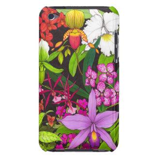 Coques Barely There iPod Cas tropical de contact d'iPod de jardin
