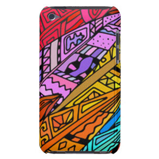 Coques Barely There iPod Conception africaine colorée