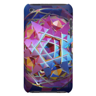 Coques Barely There iPod Globe métallique coloré