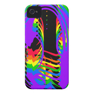 Coques Case-Mate iPhone 4 Arc-en-ciel abstrait