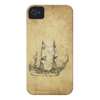 Coques Case-Mate iPhone 4 Bateau antique chic nautique vintage masculin