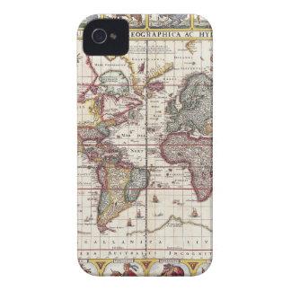 Coques Case-Mate iPhone 4 Carte vintage et caractères Claes Janszoon