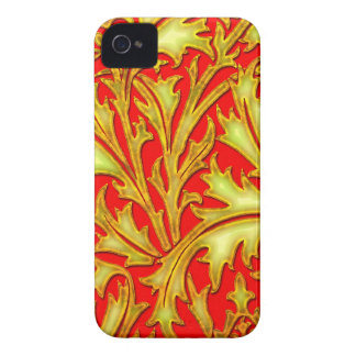 Coques Case-Mate iPhone 4 Chardon rouge d'or