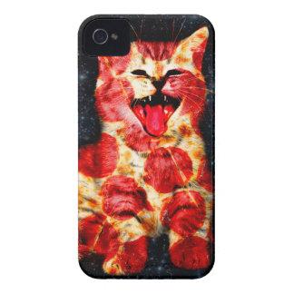 Coques Case-Mate iPhone 4 chat de pizza - minou - minou
