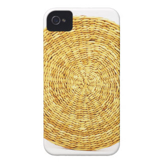 Coques Case-Mate iPhone 4 ennui naturel en bois de style de texture de Brown
