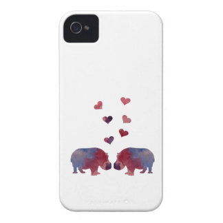 Coques Case-Mate iPhone 4 Hippopotames