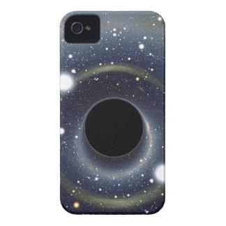 Coques Case-Mate iPhone 4 La NASA d'anneau d'Einstein de trou noir