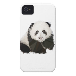 Coques Case-Mate iPhone 4 Low Poly Panda