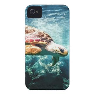 Coques Case-Mate iPhone 4 Mer merveilleuse de turquoise de la vie d'océan de