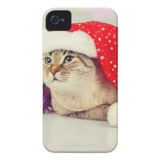 Coques Case-Mate iPhone 4 Miscellaneous - Cat With Woolly Hat Four
