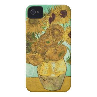 Coques Case-Mate iPhone 4 Tournesols de Vincent van Gogh |, 1888