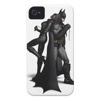 Coques Case-Mate iPhone 4 Ville   Batman de Batman Arkham et Catwoman