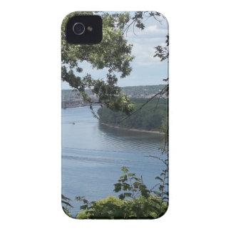 Coques Case-Mate iPhone 4 Ville de Dubuque, Iowa sur le fleuve Mississippi