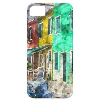 Coques Case-Mate iPhone 5 Burano Italie près de Venise Italie avec la Co