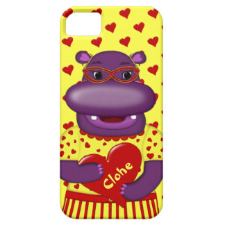 Coques Case-Mate iPhone 5 Cas du l'Hippopotame-iPhone 5/5s de Henrietta