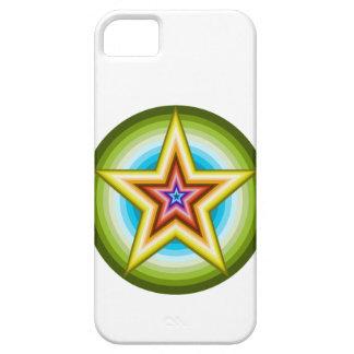 Coques Case-Mate iPhone 5 Étoile mignonne dans la conception de cercle