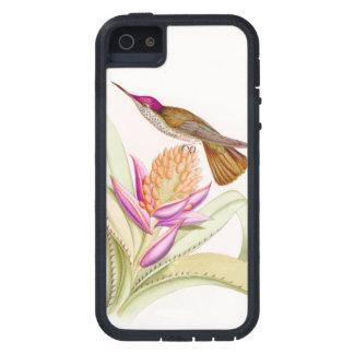 Coques Case-Mate iPhone 5 Fleurs d'animaux de faune d'oiseaux de colibri