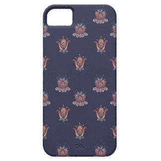 Coques Case-Mate iPhone 5 Marine de cas de téléphone de fleurs d'automne