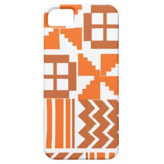 Coques Case-Mate iPhone 5 Motif orange de Khanga