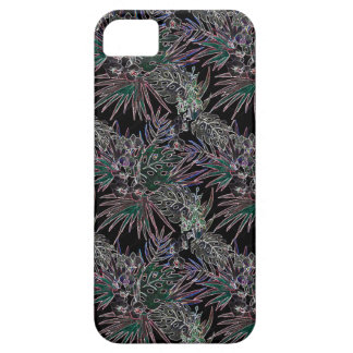 Coques Case-Mate iPhone 5 NÉON tropical de motif de fleur