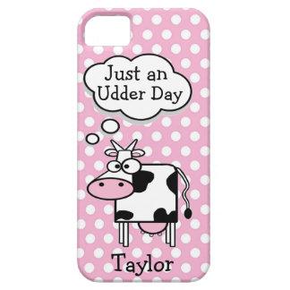 Coques Case-Mate iPhone 5 Pois personnalisé par vache drôle mignonne de
