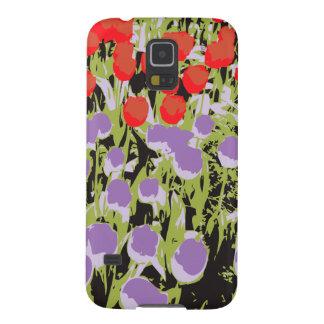 Coques Galaxy S5 Abstraction de fleur de tulipe