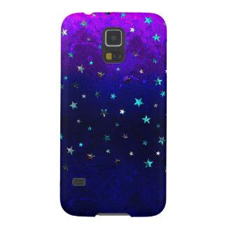 Coques Galaxy S5 Image étoilée de belle nuit de galaxie de l'espace