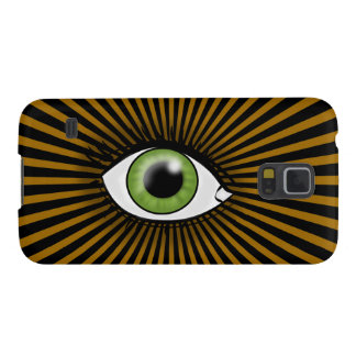 Coques Galaxy S5 Oeil vert solaire