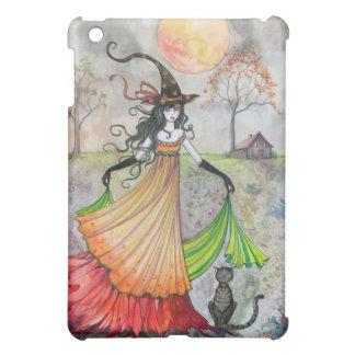 Coques iPad Mini Art de Halloween de sorcière et de chat de rêverie