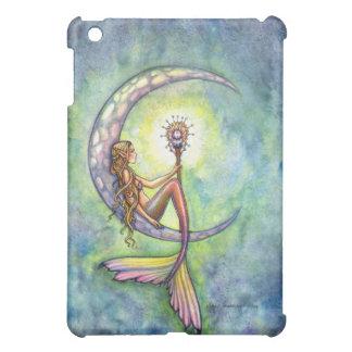Coques iPad Mini Art féerique d'imaginaire de sirène par l'aquarium