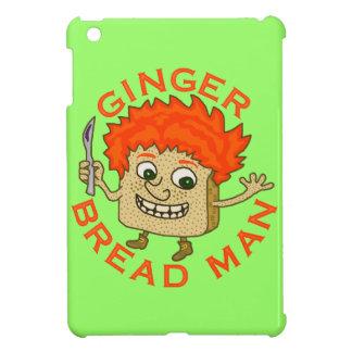 Coques iPad Mini Calembour drôle de Noël d'homme de pain de