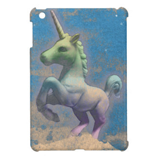 Coques iPad Mini Cas d'iPad de licorne mini (bleu de Sandy)