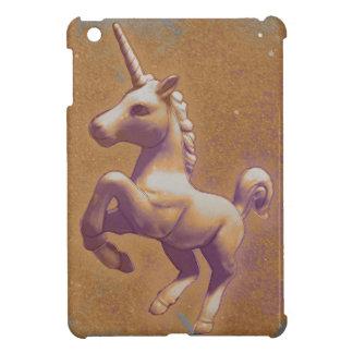 Coques iPad Mini Cas d'iPad de licorne mini (lavande en métal)