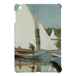 Coques iPad Mini Claude Monet | naviguant à Argenteuil, c.1874
