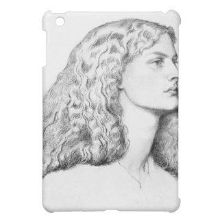 Coques iPad Mini Dessin de portrait de femme