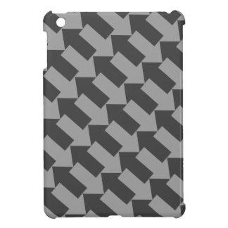 Coques iPad Mini flèches de verrouillage diagonales de mini cas