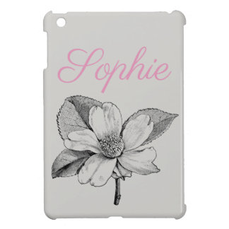 Coques iPad Mini Fleur vintage/victorienne Personnalised